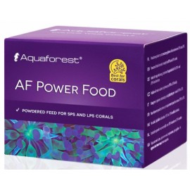 AF Power Food Comida en polvo corales SPS y LPS Aquaforest